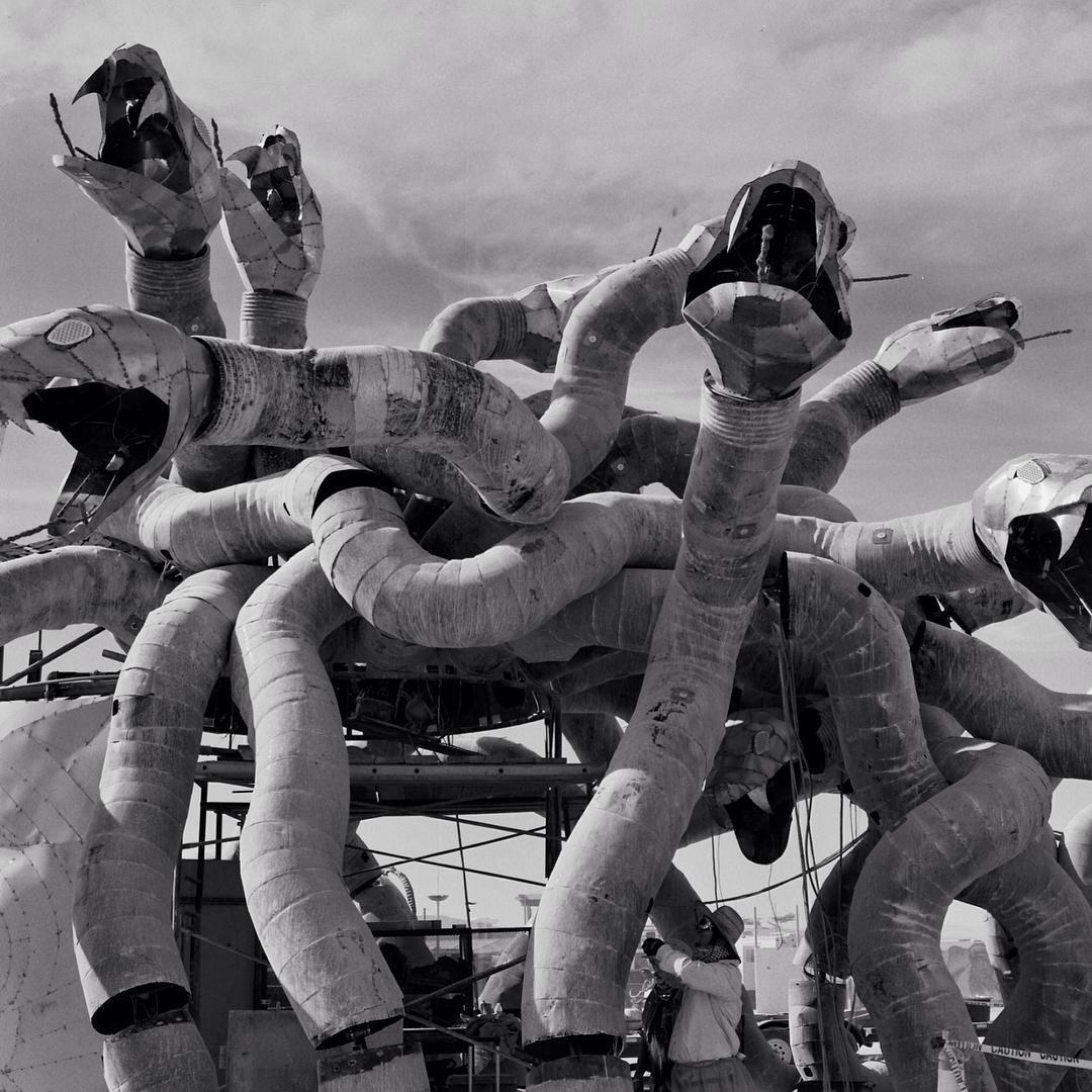 #burningman #playa #2015 #sculpture #artiseverywhere #art #bxw #film #photography #hasselblad #tbt #nofilter #Nevada