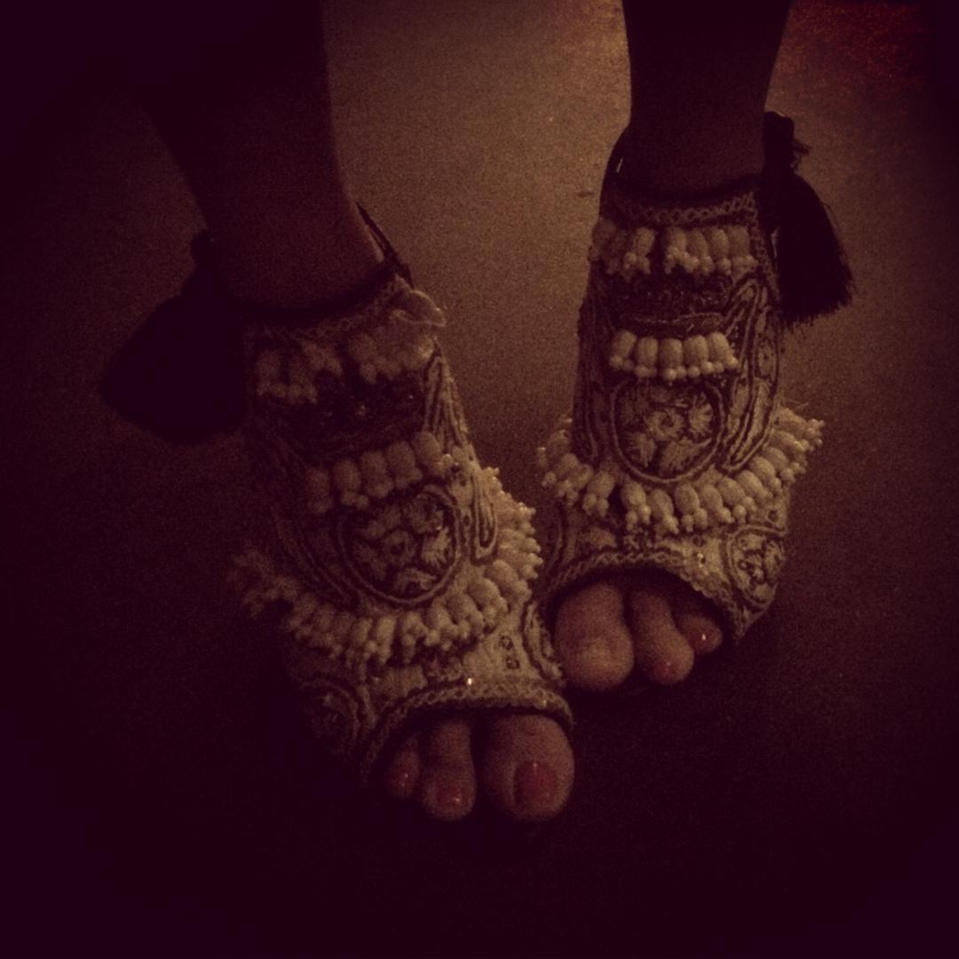 Those are some #glam kicks, @marlotablante... Happy Birthday, sporty, shawty,