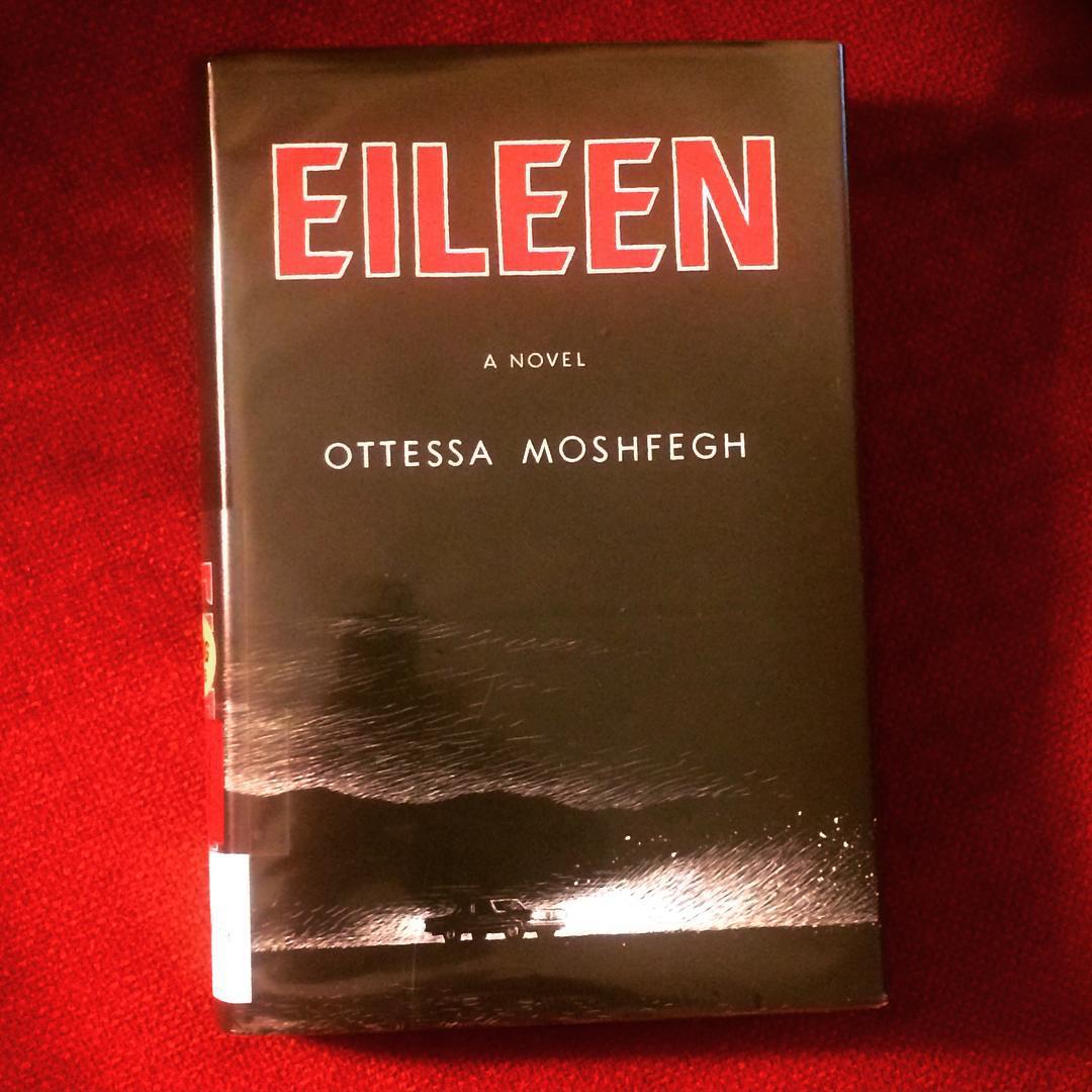 Wow! This @penguinusa book, #Eileen by #ottessamoshfegh. Incredible writing, amazing character study. Daaaark. #rundontwalk #booksaregoodfood