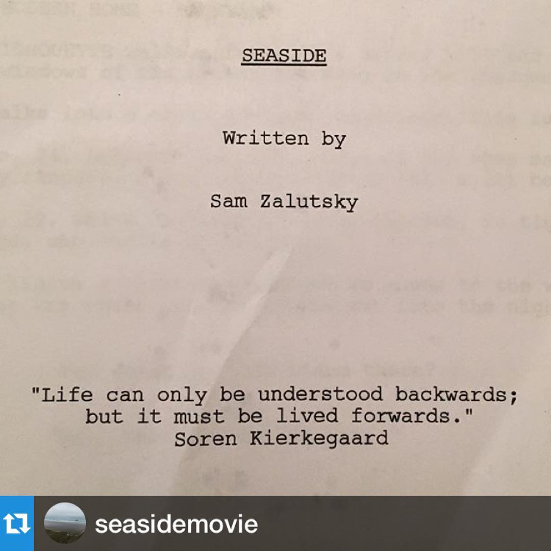 Hey #sorenkierkegaard you really get me and my new #revenge #thriller @seasidemovie. Follow us for more #indiefilm #madeinoregon #oregonfilm