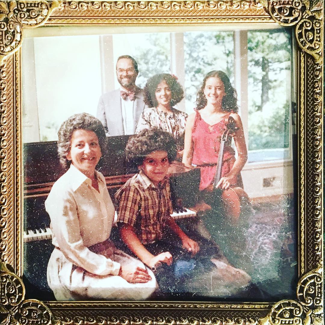 """Studies in #Jewish #hair, early 80s edition"" #tbt #pdx #awkwardfamilyportraits #jewfro #family #portlandoregon"
