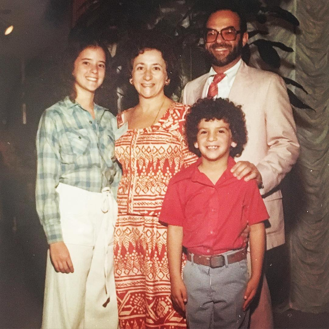 """Studies in #Jewish #hair, late 70s edition, #hawaii #familyvacation"" #westcoastJews #tbt"