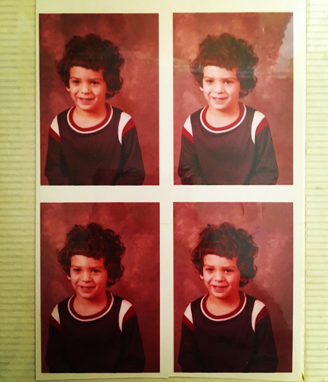 """Studies in #Jewish #hair, late 70s edition, #awkwardschoolphotos almost #jewfro #pdx #portland #westcoastJews #ainsworthschool #tbt"