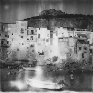 #cefalu #tbt to this gorgeous little tourist town on the north coast of #sicily #sicilia w/ a gorgeous bay for swimming, a stunning #Norman #cathedral and lots of delicious food... #Italy #Italia #makerealphotos #polaroid #bxw #film #sx70 #impossibleproject @impossible_hq